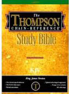 KJV Thompson Chain Reference Study Bible HC