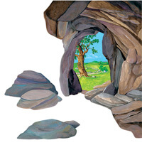Cave Overlay - small #4221