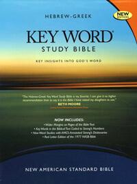 NASB Hebrew Greek Key Word Study Bible Wider Margin