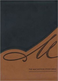 NASB MacArthur Study Bible INDEXED