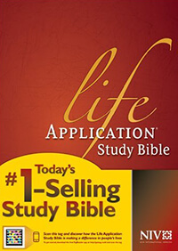 NIV Life Application Study Bible INDEXED HC