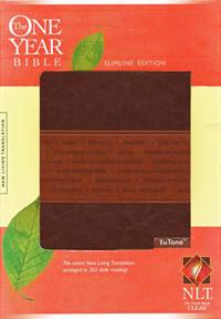 NLT One Year Bible Slimline Edition