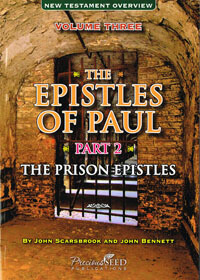 NT Overview Vol 3 Epistles of Paul Part 2 Prison Epistles