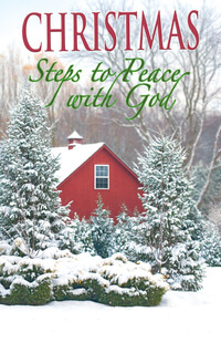 Tract: Christmas Steps To Peace With God (Pkg 25)