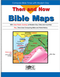 Rose Book Then and Now Bible Maps #306X
