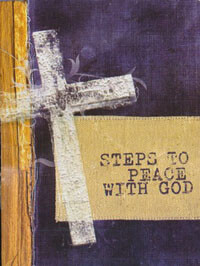 Tract: Steps To Peace With God (cross) NIV  pkg 25