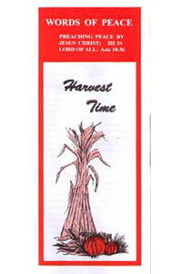 Tract: WOP Harvest Time (100 pkg)