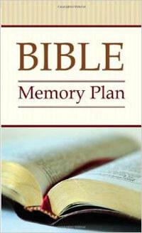 Bible Memory Plan