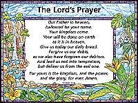 Chart: Lords Prayer / Trespasses, The (Laminated)