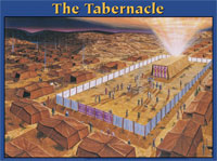 Chart: Tabernacle, The (Laminated)