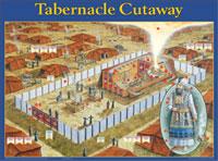 Chart: Tabernacle Cut Away (Laminated)