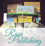 Rose Publishing Materials