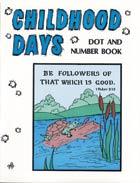 Childhood Days Dot & Number Coloring Book (Aunt Mabel)