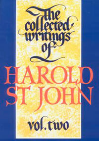 Collected Writings of Harold St John Vol 2