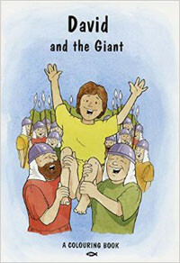 David & the Giant (Coloring Book)