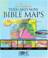 Rose Book Deluxe Then and Now Bible Map Book (w/ CD-ROM)