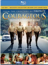 DVD Courageous Collectors Edition BLU-RAY