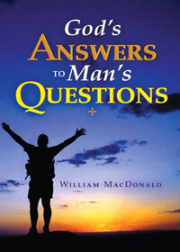 Gods Answers to Mans Questions (booklet)  ECS