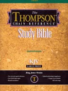 KJV Thompson Chain Reference Bible Study Large Print