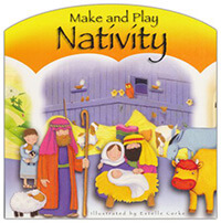 Make and Play Nativity - Board Book & figures