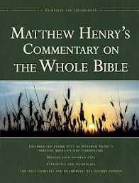 MATTHEW CONCISE COMMENTARY HENRY
