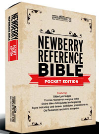 Newberry Reference Bible Pocket Edition