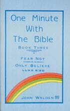 One Minute with the Bible: Book Three