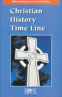 Pamphlet: Christian History Time Line