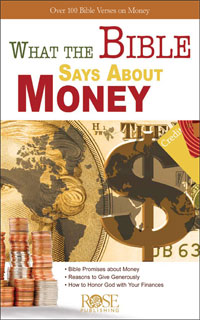 Pamphlet: What The Bible Says About Money