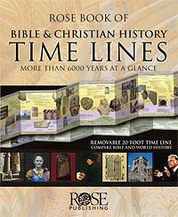 Rose Book of Bible & Christian History Timelines Rose Books