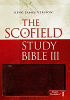 KJV Scofield Study Bible III Zipper Closure *