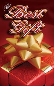 Tract: The Best Gift NKJV Christmas pkg 20