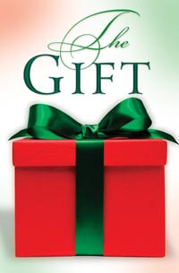 Tract: Gift The   (Christmas)  Pkg-25)