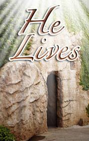 Tract: He Lives KJV pkg 20