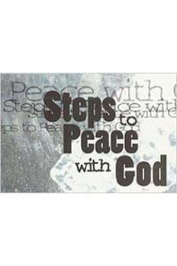 Tract: Steps To Peace With God - Typography pkg 25