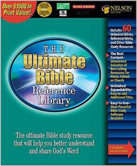 Ultimate Bible Reference Library CD Rom