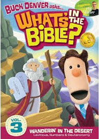 DVD Whats In The Bible #3 Wanderin in the Desert