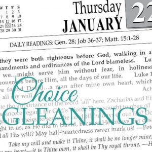 Choice Gleanings