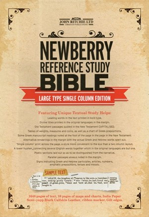 Newberry Reference Study Bible